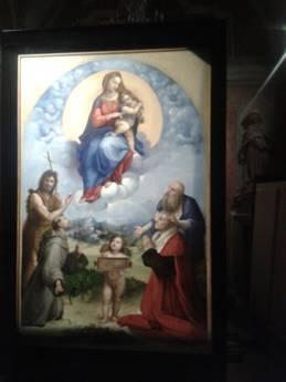 Madonna di Raffaello a Foligno