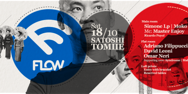 Satoshi Tomiie torna in Umbria: party elettronico a Città di Castello
