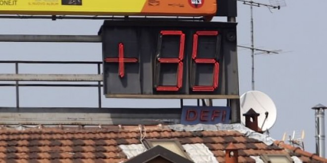 Meteo, torna il gran caldo: Perugia tra le città italiane da bollino rosso