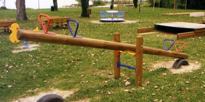 Nuovi giochi per i bambini in arrivo nell'area verde di San Martino in Campo