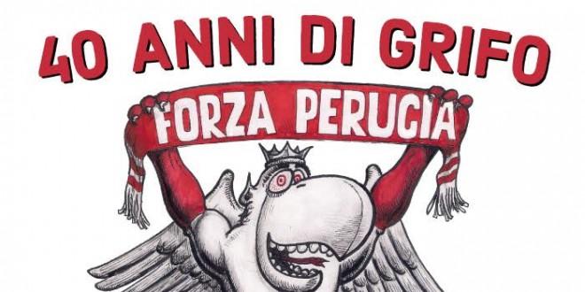 """""""40 anni di Grifo"""": il Perugia nelle vignette e nei disegni di Marcello Pitorri"""