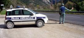 Polizia provinciale, report su attività vigilanza strade e sicurezza pubblica