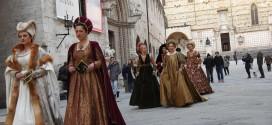 Perugia 1416, il rione di Porta Eburnea vince al tiro del giavellotto