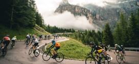 Biciclette umbre sulle Dolomiti