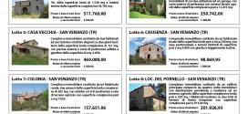 In vendita 11 complessi immobiliari di proprietà della Regione, asta pubblica il 29 settembre