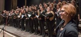 Il coro dell'Università degli Studi di Perugia offre alla città il suo omaggio di Natale