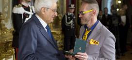 Leonardo Cenci nominato Cavaliere dell'Ordine al Merito della Repubblica Italiana