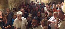 Città della Pieve, decine di visitatori nelle cripte del Duomo con un pensiero a Norcia