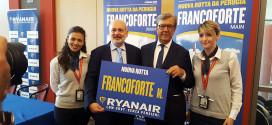 Aeroporto dell'Umbria, Perugia si collega a Francoforte: presentata la nuova tratta Ryanair