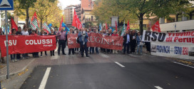 """Province, lavoratori in strada a Perugia: """"Difendiamo il lavoro e i servizi"""""""