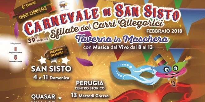 Carnevale a Perugia, presentato il cartellone ufficiale della manifestazione
