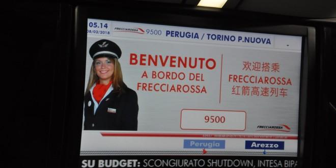 Frecciarossa Perugia-Milano: 3200 le prenotazioni fino al 4 aprile