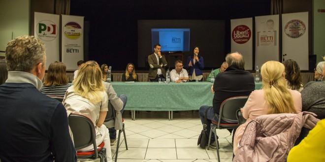 Corciano, presentate ufficialmente le liste a sostegno del candidato sindaco Betti