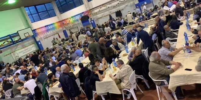 In oltre 650 a cena con Federcaccia Perugia