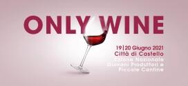Tutto pronto per l'edizione 2021 di Only Wine