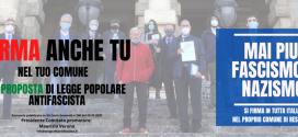 Antifascismo: Spi e Cgil organizzano a Perugia 4 appuntamenti per firmare la proposta di legge popolare 'Stazzema'